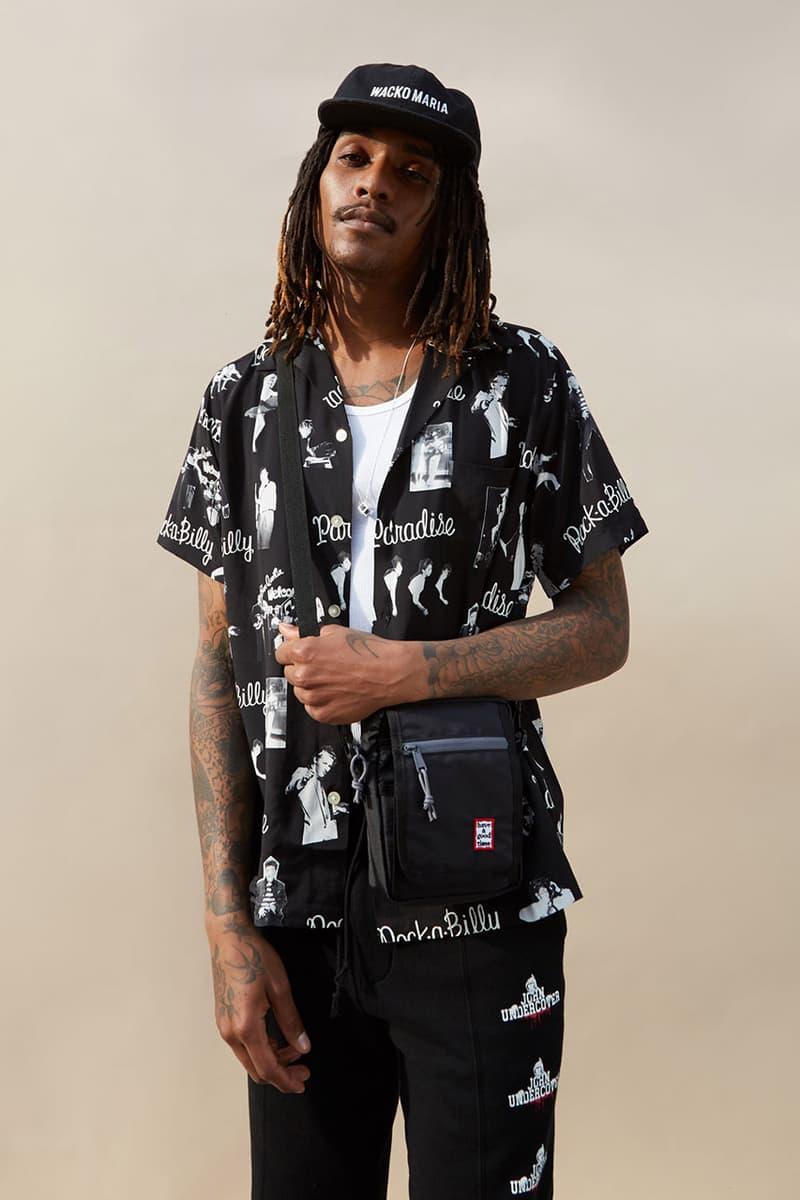 Goodhood Store London Editorial Lookbook Spring Summer SS19 Short Sleeve Shirt Selection How to Wear Wacko Maria AïE NEIGHBORHOOD Needles