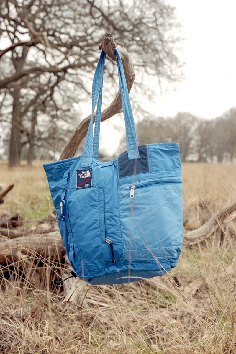 Greater Goods Repurposed Tote Bag Collection outerwear garments the north face lookbooks