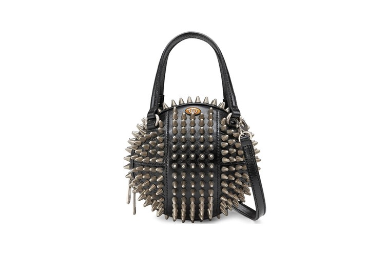 a9fbeec12fda Gucci's Spiked Basketball-Shaped Bag Is an Ode to '80s Punk