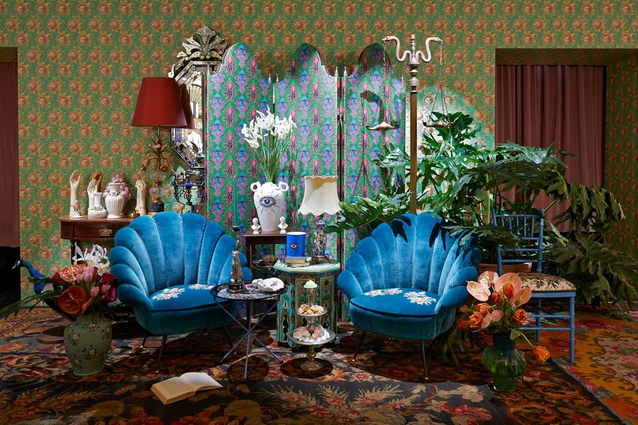 gucci decor milan temporary store salone del mobile furniture fair