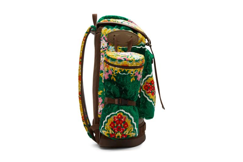 Gucci Oversized Tapestry Backpack Release Green