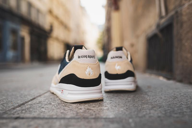 HANON x Le Coq Sportif LCS R800 'The Good Agreement' MIF Made in France Bon Accord Angers French Scotland Suede Sneaker Release Collaboration Drop Date Information Raffle Sign Up Now Where to Buy Limited Edition