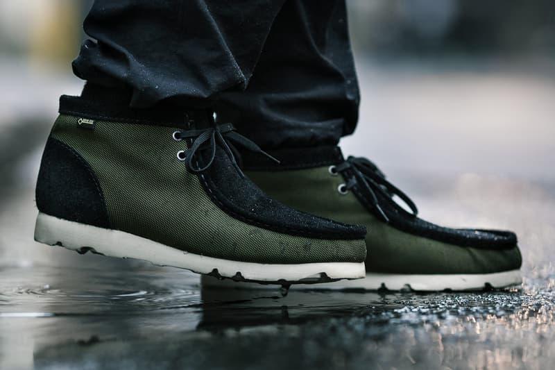 HAVEN x Clarks Ballistic GORE-TEX Wallabee Boots collaboration release date info drop april 27 2019 exclusive colorway ss19 shop