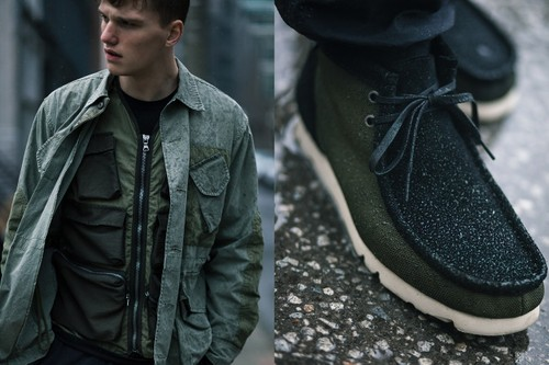 HAVEN and Clarks Launch Ballistic, GORE-TEX-Lined Wallabee Boots