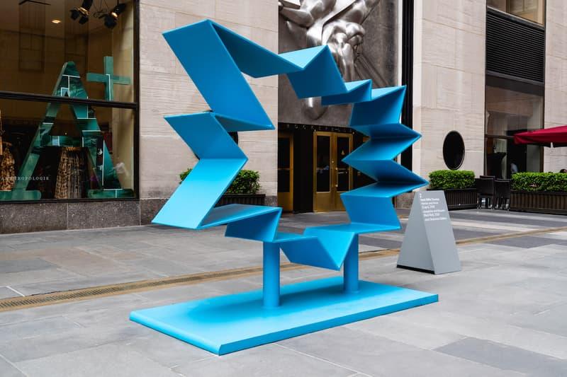 frieze sculpture rockefeller center artworks artists
