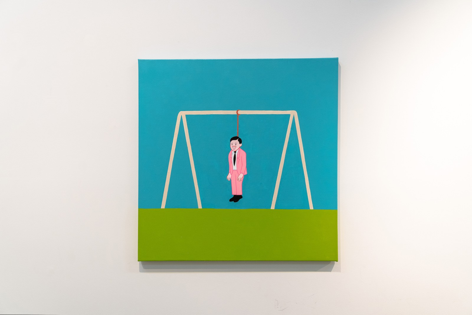 joan cornella keep it real exhibition gr gallery interview artworks paintings