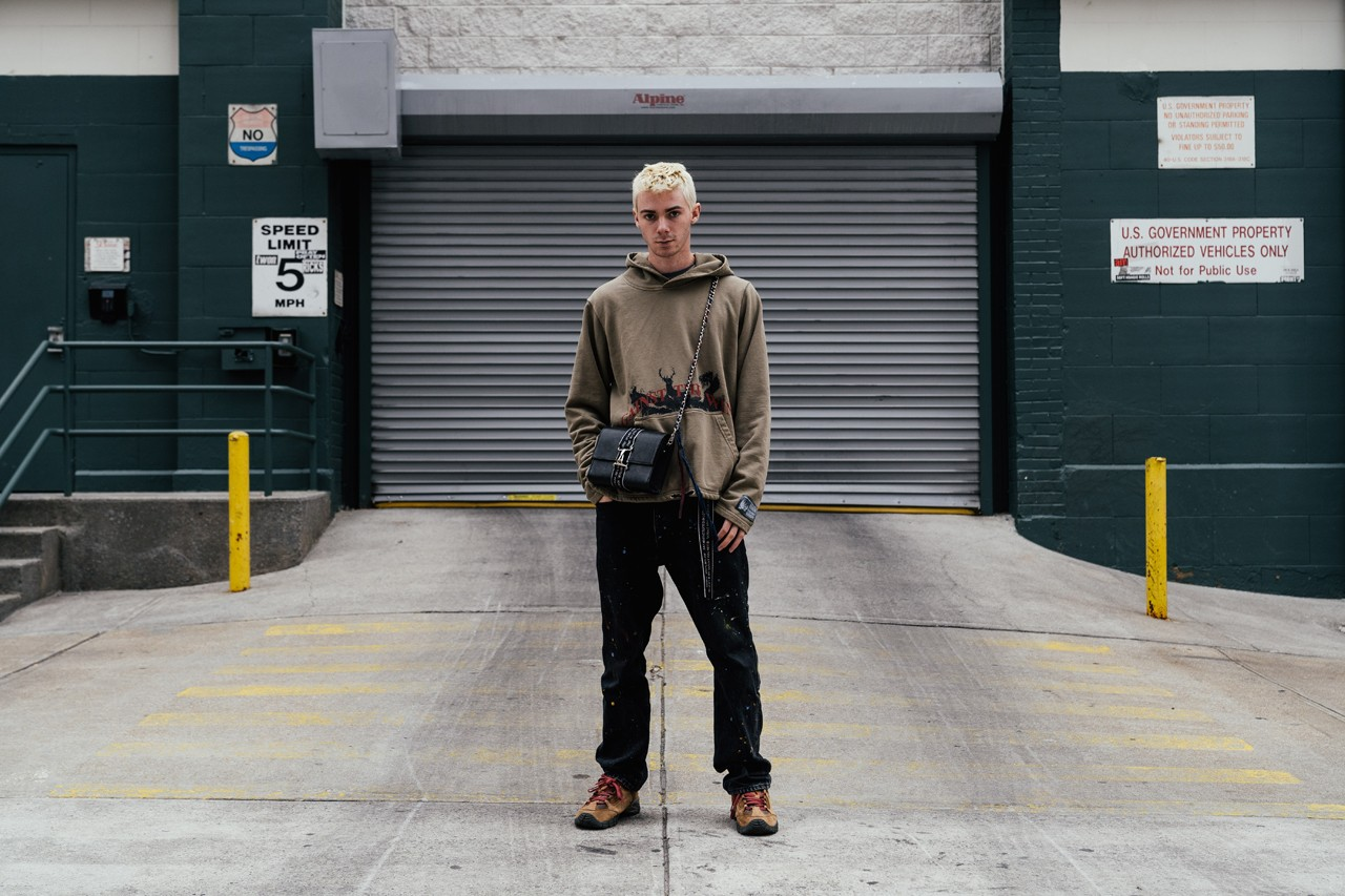 Reese Cooper Streetsnaps Style Interview Feature soho new york collection