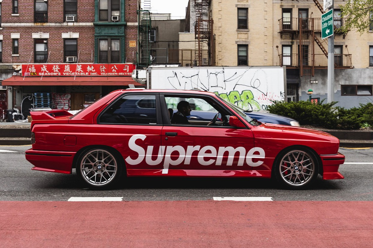 Bmw M3 E30 >> Supreme Bmw M3 E30 Hot Wheels And Full Size Model Hypebeast