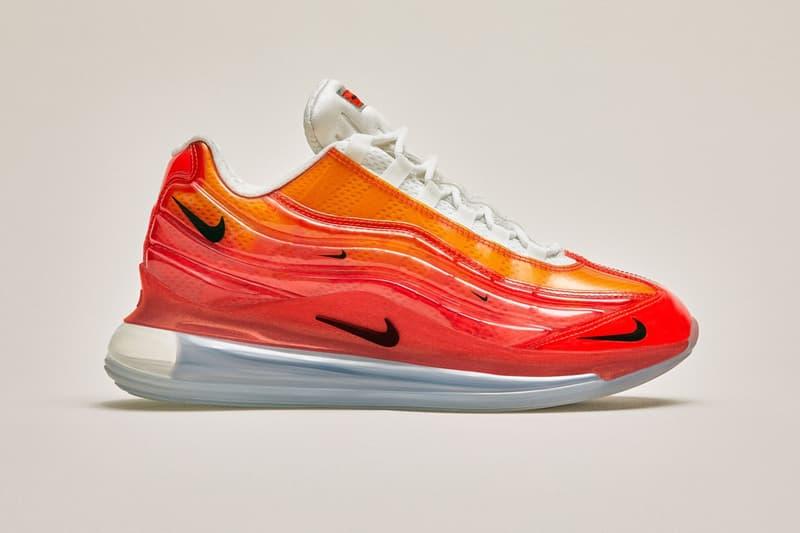 Heron Preston Nike Air Max 720/95 Milan Launch shoes sneakers trainers Italy design week Antonioli