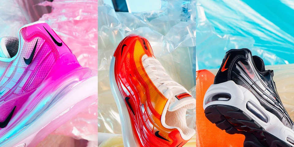 new product 3883f 296c8 Heron Preston Nike By You Air Max 720 95 Closer Look   HYPEBEAST