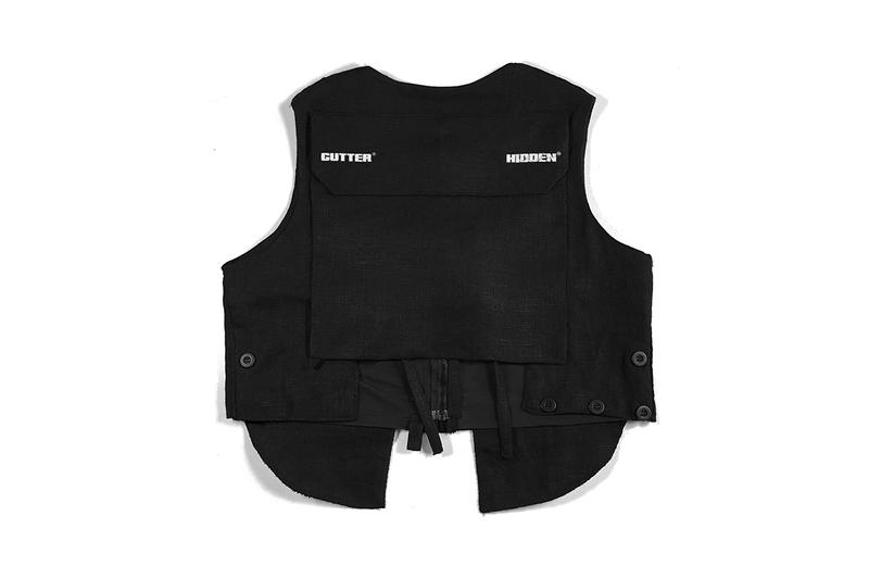 """Hidden Characters x GUTTERTM """"Portal One"""" Capsule collection range cut & sew graphics gutter The Hidden Characters chicago brands streetwear """"K-os"""" tee vest tearaway trousers"""