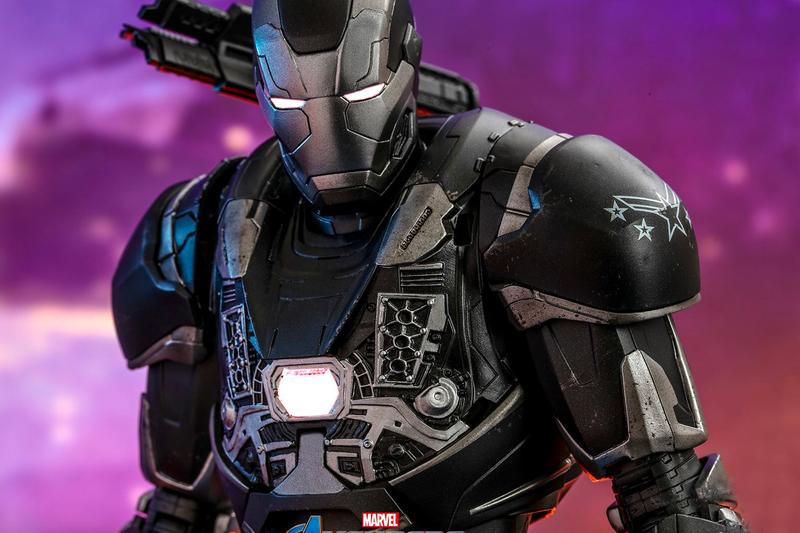 Hot Toys Marvel War Machine Release Info iron man don cheadle collectible figure figurine avengers endgame cinematic universe studios film movie cinema