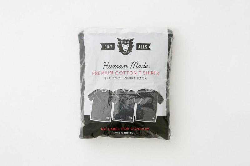 Human Made 3 Pack T-Shirt Info nigo Release