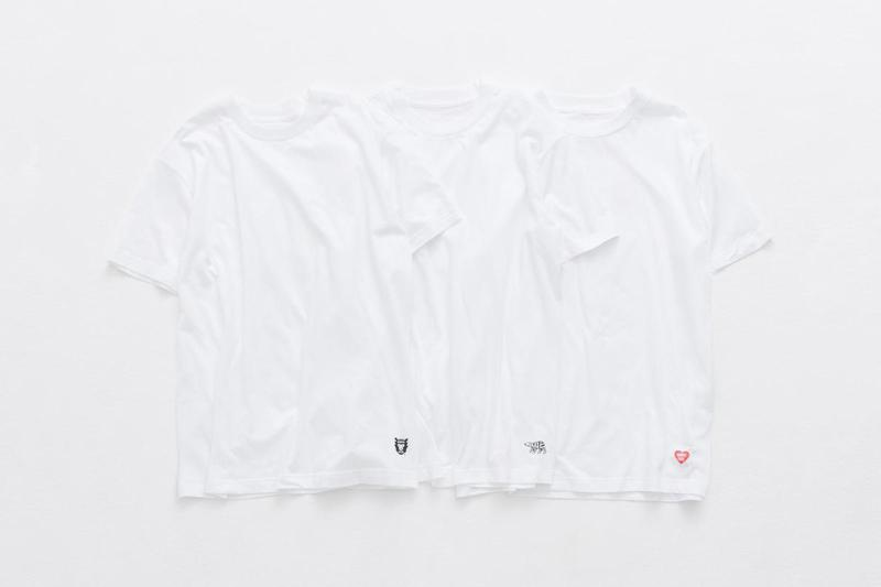 Human Made 3 Pack T-Shirt Info nigo Release