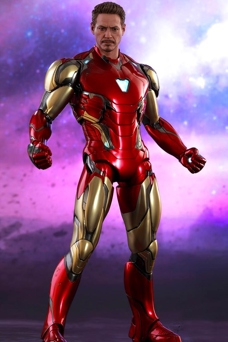 Iron Man Suit Thanos Weapon Avengers Endgame Tony Stark Hot Toys Marvel MCU Marvel Studio