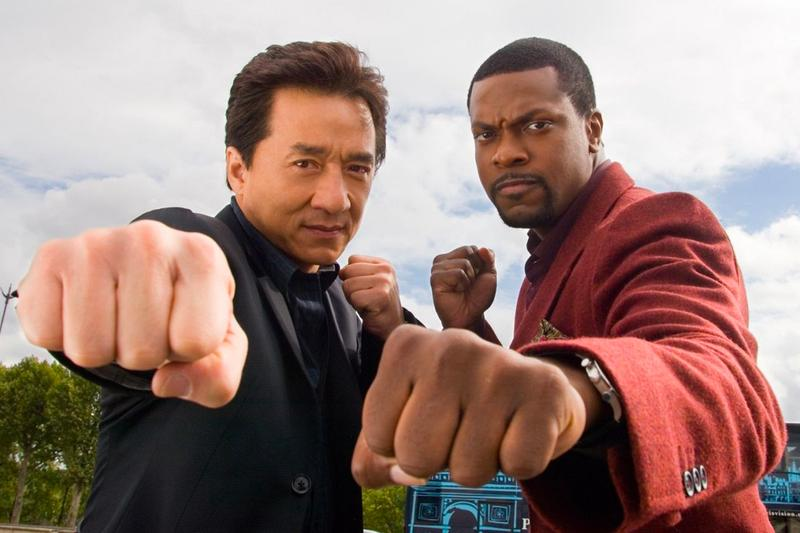 Jackie Chan Chris Tucker Rush Hour 4 Detective James Carter Chief Inspector Yan Lee