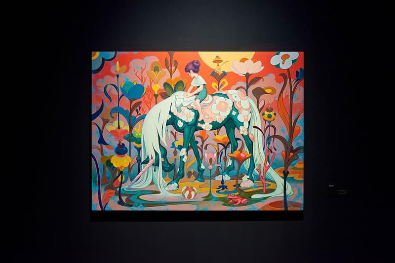 James Jean Eternal Journey Seoul  Art Exhibition art artworks paintings murals stained glass south korea Lotte museum