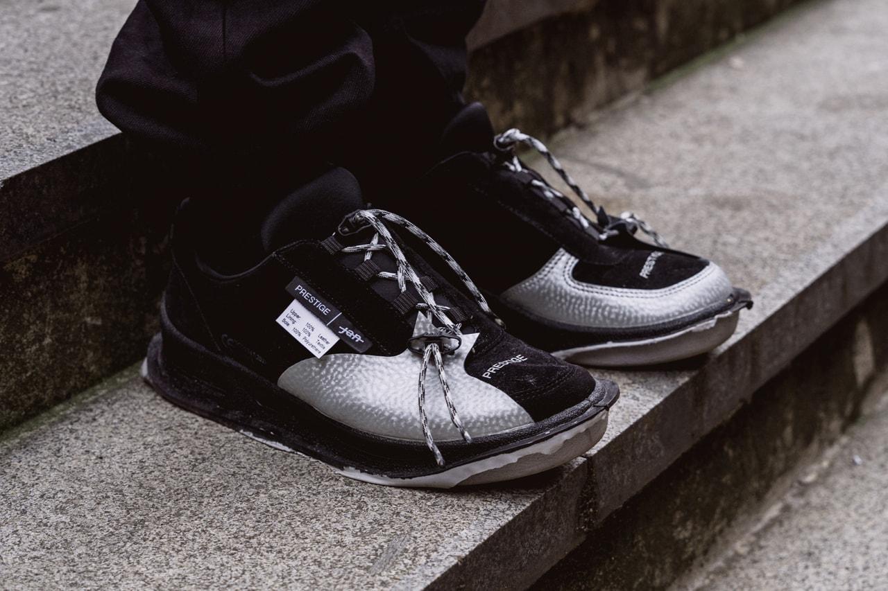 Jan Cerny Streetsnaps Style, Interview in Prague feature designer louis vuitton intern prestige sneaker collaboration fall winter 2019 mercedes benz fashion week