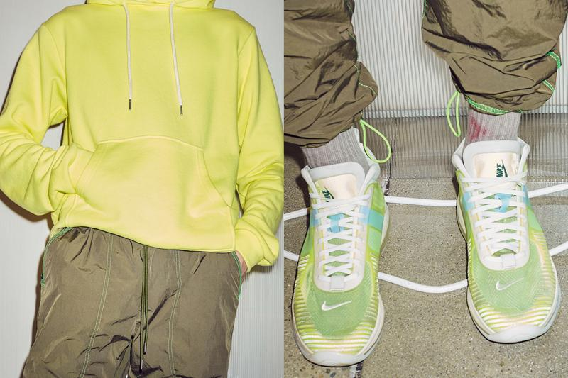 John Elliott Pre-Fall 2019 Collection Lookbook exclusive lebron james icon collaboration yellow colorway release info drop fw19 sneaker volt