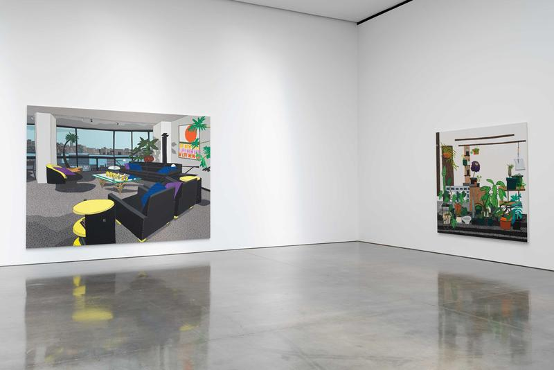 jonas wood exhibition gagosian new york city artworks paintings