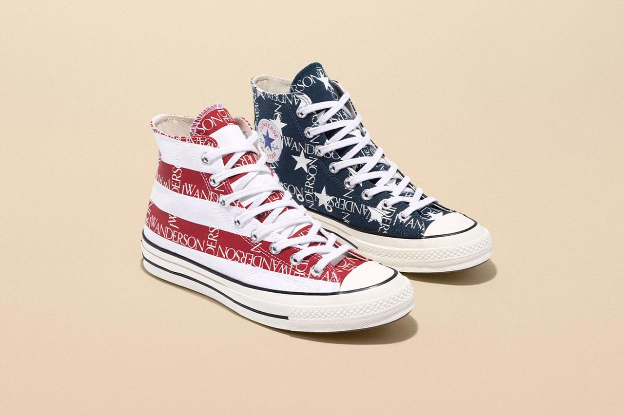 JW Anderson x Converse American Flag