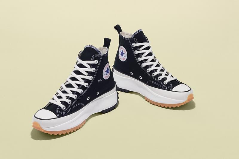 JW Anderson x Converse Drop More Grid & Run Hike sneakers colorways american flag 70s black hiking april 18 2019 release date info buy