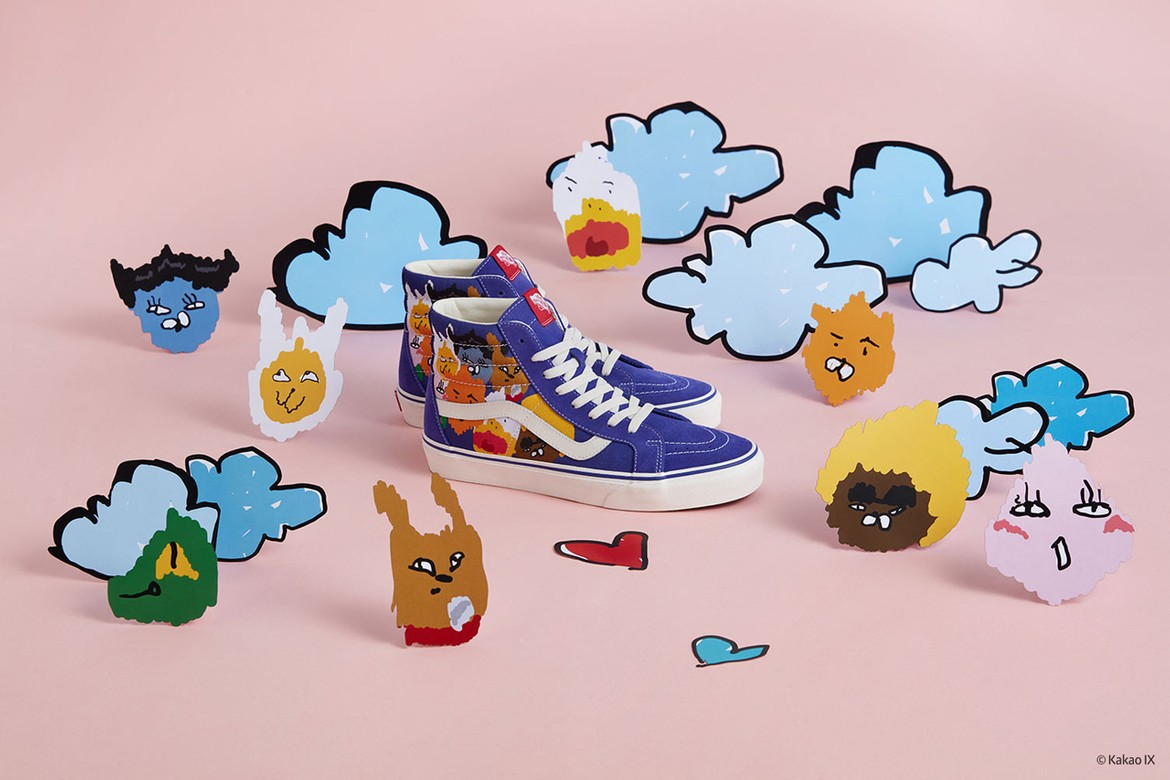 a7db11e84a Kakao Friends x Hyunye x Vans Sneaker Collection