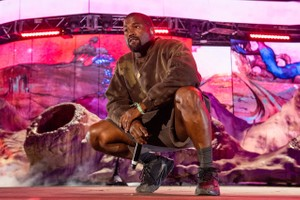 Watch Kanye West's