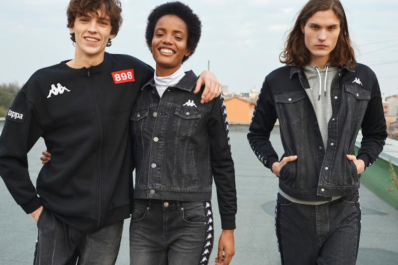 Kappa Fall/Winter 2019 Collection lookbooks football inspired looks track suits jackets