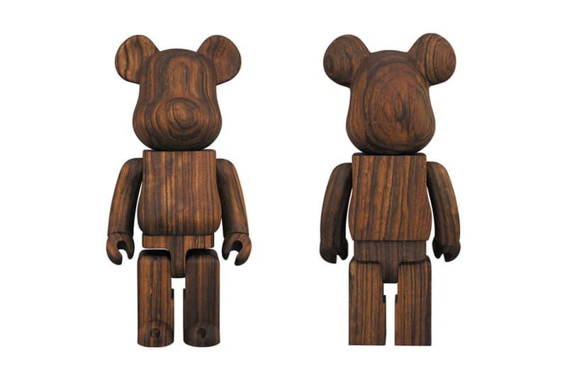 Karimoku x Medicom Toy BE@RBRICK Ovangkol 400% collaboration drop release date info rosewood exclusive plus shibuya tokyo 1235 usd price rosewood african wood
