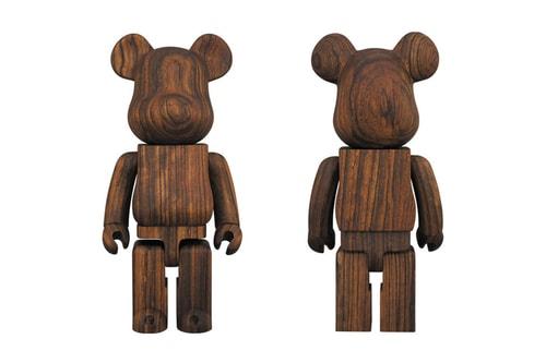 Karimoku Rejoins Medicom Toy for Another Lavish Rosewood BE@RBRICK 400%