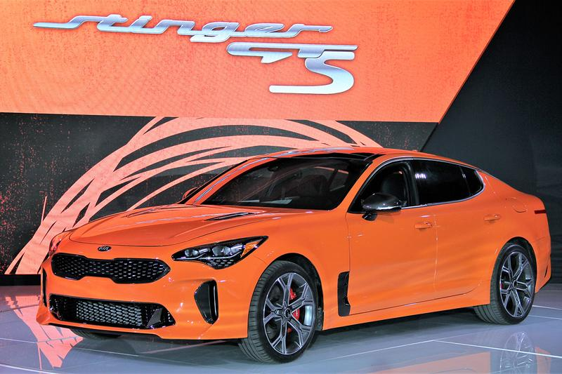 Kia Limited Edition Stinger GTS New York International Auto Show Release Debut Car Information New Dynamic AWD Technology Drift Mode RWD Setting Limited Slip Differential 365 horsepower 376 lb-ft torque