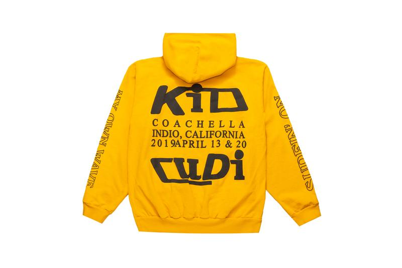 kid cudi cactus plant flea market coachella 2019 capsule collection online release web drop graphic hoodies t shirt tee