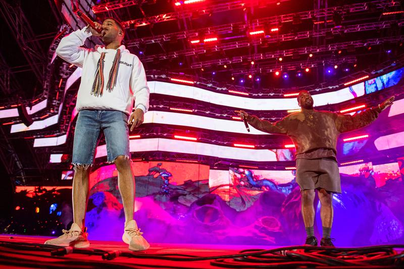 kid Cudi Kanye west Perform performance stage concert Kids See Ghost Coachella 2019 festival merch good music