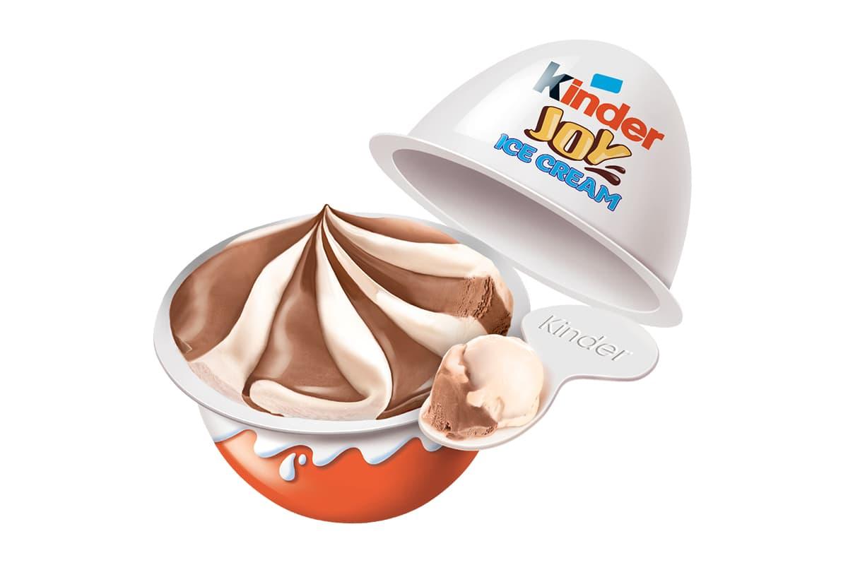 Kinder Introduces a Range of Ice Cream Treats