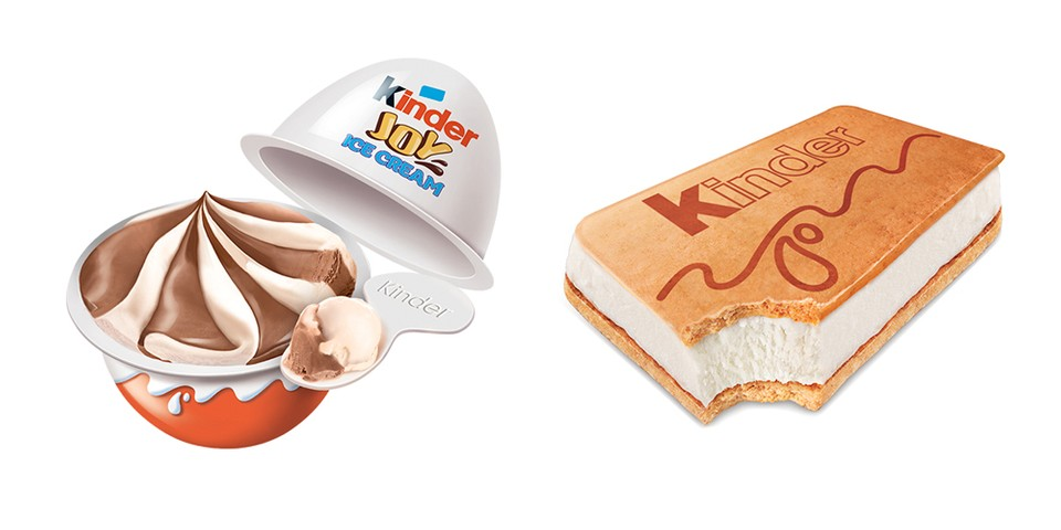 Kinder Introduces a Range of Ice Cream Treats