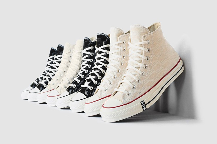 f8260cc1a029 KITH Classics Delivers Subtly-Branded Converse Chuck Taylor All-Stars