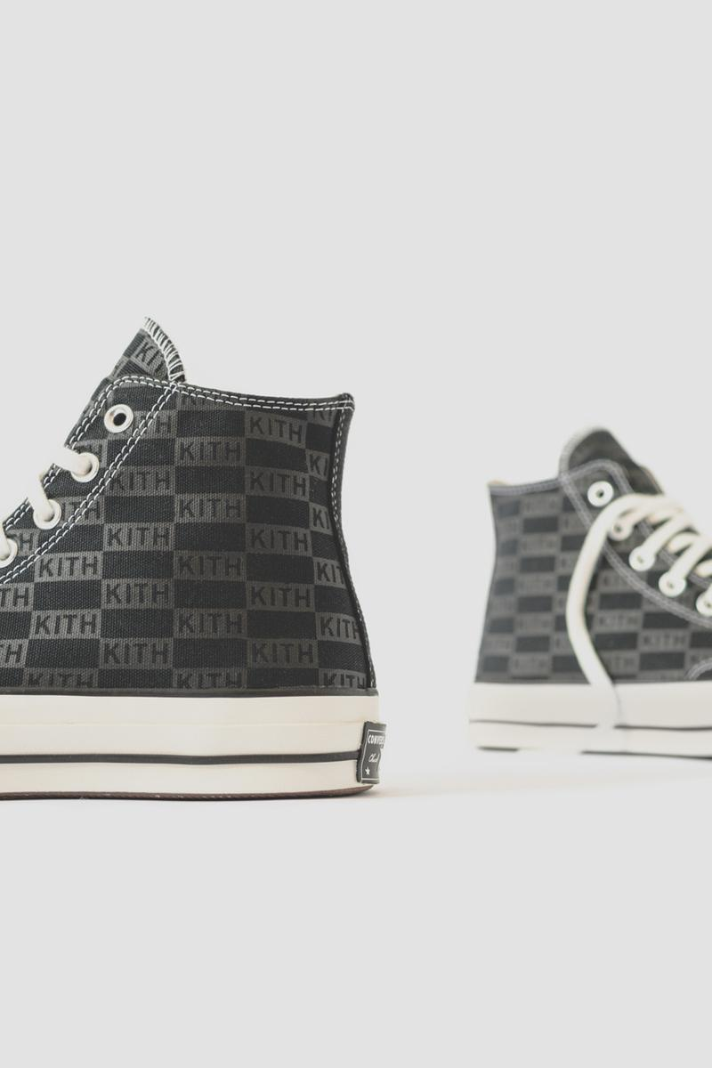 KITH Classics x Converse Chuck Taylor All Star ss19 2019 april 19 drop release date info logo colorway black white collection collaboration