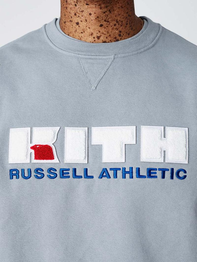 Russell Athletic x KITH Collab Preview spring summer 2019 ronnie fieg