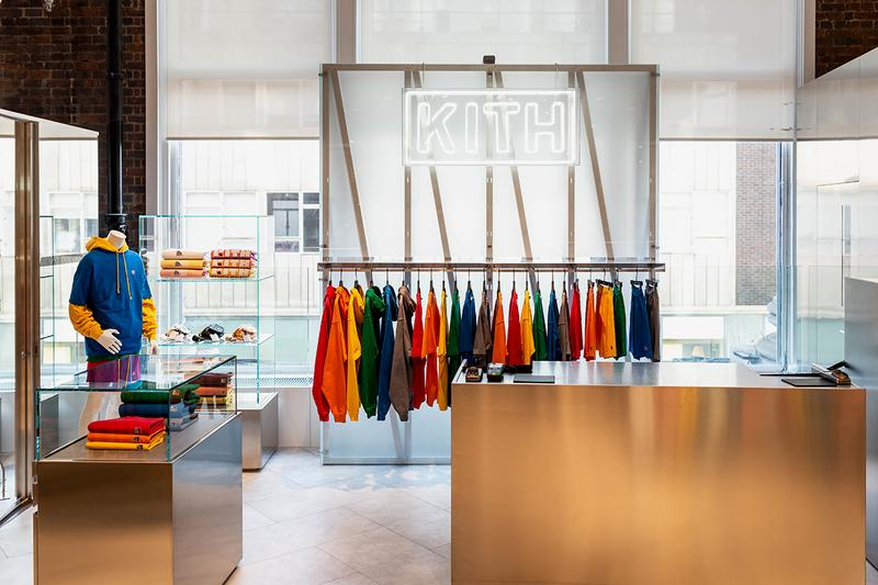 Kith London Selfridges Inside Look Ronnie Fieg Shop Buy Russell Athletic Treats Address Shop Store New