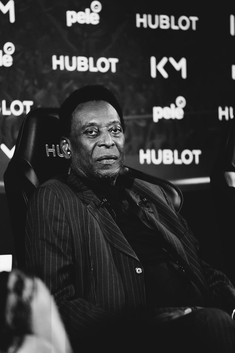 Kylian Mbappé & Pelé Interview hublot football soccer psg paris saint germain france paris hypebeast france