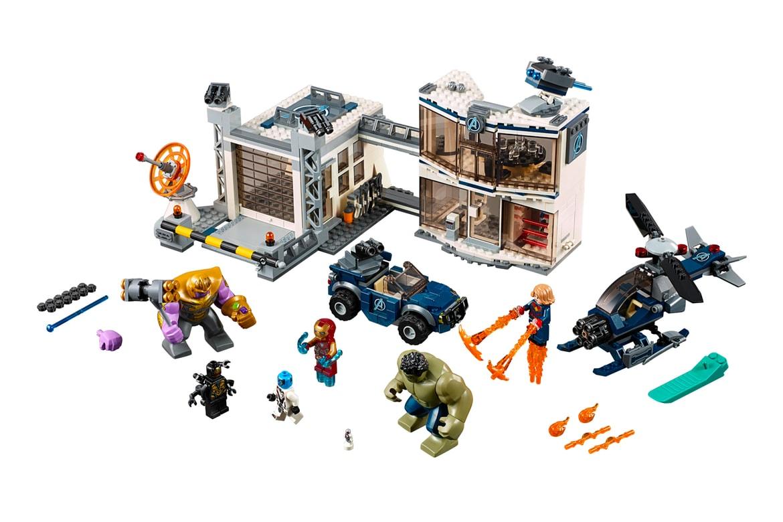LEGO 'Avengers: Endgame' Series Hong Kong Release | HYPEBEAST
