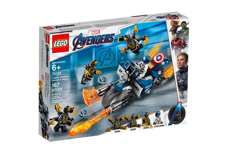 LEGO 'Avengers: Endgame' Series Hong Kong Release marvel studios ironman captain america hulk thanos guardians of the galaxy captain marvel toy collectible figurine memorabilia