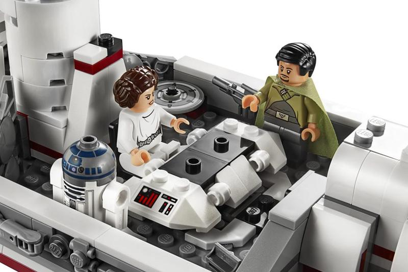 LEGO Star Wars Just Revealed a Tantive IV Set at the Star Wars Celebration May fourth 4 lucas films star wars may the force be with you bricks design han solo luke skywalker
