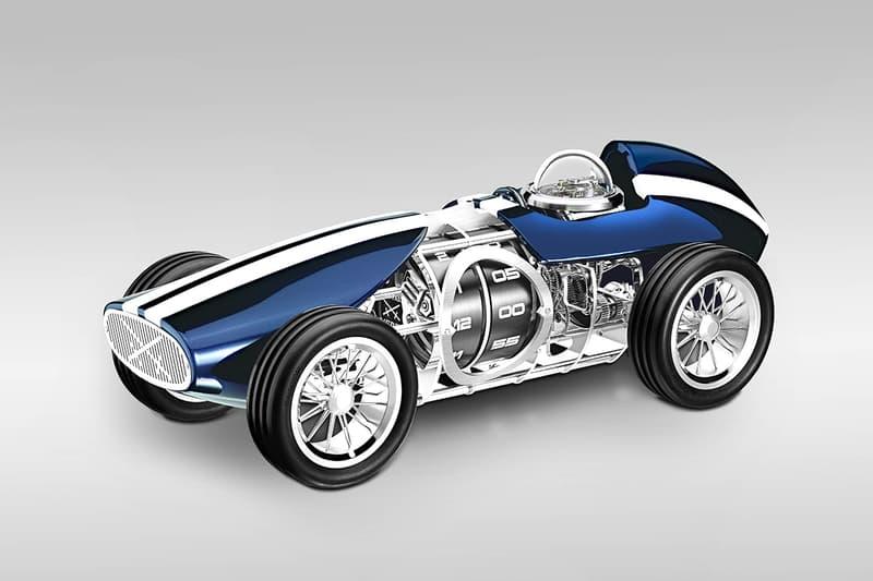 L Epée Time Fast D8 Clock Release Info model car racer vintage timekeeping
