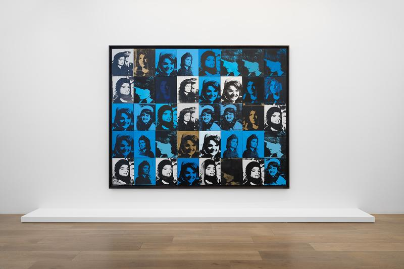 andy warhol women exhibition levy gorvy artworks paintings silkscreens exhibitions shows