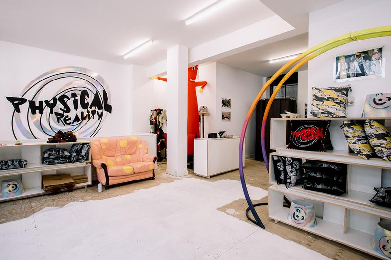Liam Hodges Pop-Up Store London Soho Fila BFC Upcycled Exclusive Items Stores Shops Retail