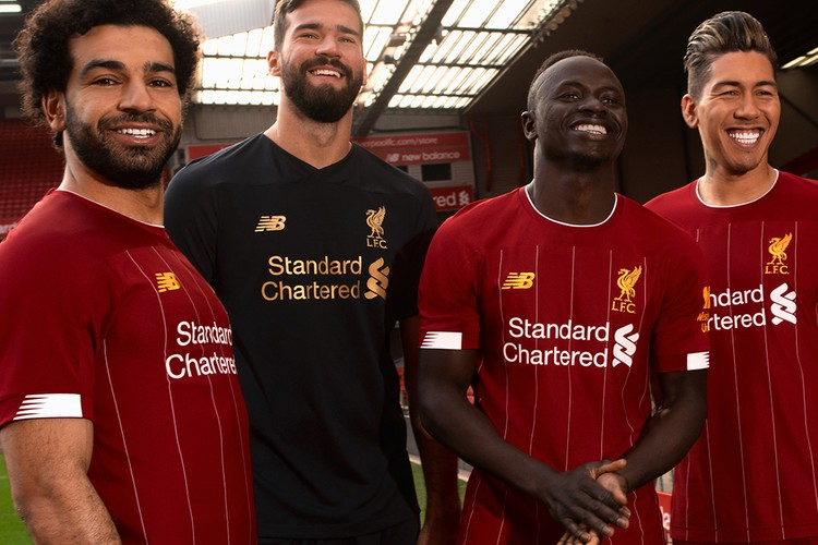 best website 78824 df325 Liverpool All-Black Limited Edition 2019/20 Kits | HYPEBEAST