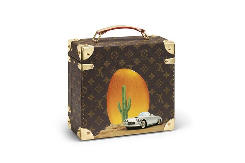 Louis Vuitton First Unisex Fragrance Collection Cologne perfume travel cases Alex Israel