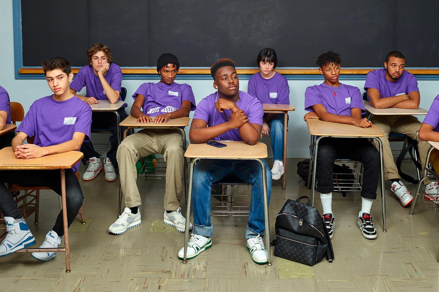 """Louis Vuitton """"School Teens"""" SS19"""